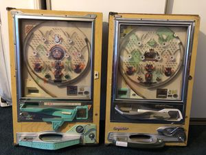 Vintage NISHIJIN PACHINKO MACHINE - Arcade Pinball Game for Sale in Big Bear Lake, CA
