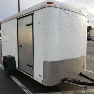 6x12 Tall Enclosed Cargo Trailer for Sale in Orlando, FL