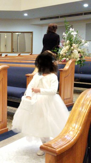 Beautiful Boutique Flower Girl Dress Size 4T - 5T for Sale in Houston, TX
