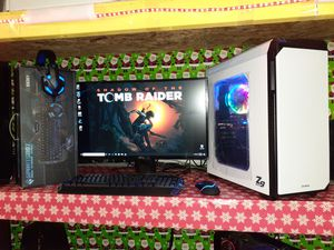 ZALMAN ZNEO 9 GAMING COMPUTER SUPER SETUP for Sale in Kennedale, TX