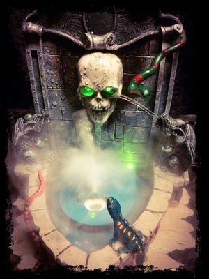 Fogging Haunted Fountain (Halloween) for Sale in Parma, OH