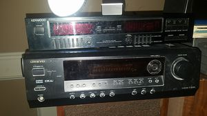 TX-SR304 ONKYO RECEIVER AND KENWOOD EQ for Sale in Forest Heights, MD
