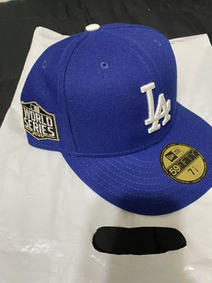 Dodgers World Series Hat 7 1/4 for Sale in Covina, CA