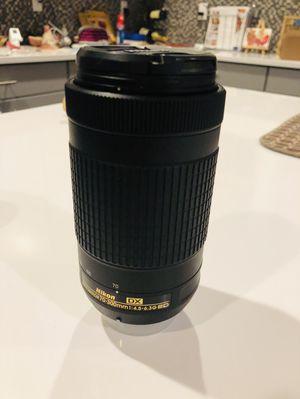 Nikon DSLR Nikkor Lens 70-300mm VR lens for Sale in Goodyear, AZ