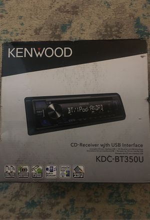 KENWOOD CD Receiver with USB Interface for Sale in Oklahoma City, OK