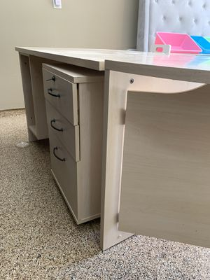 Danish Desk with drawers for Sale in Houston, TX