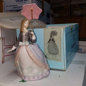 Retired Lladro Figurine Girl with Parisol for Sale in Weston, FL