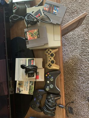 Nintendo console and controllers for Sale in Amarillo, TX