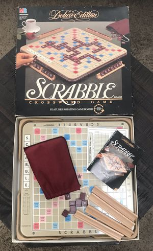 Big Scrabble Deluxe Game just $15 for Sale in Port St. Lucie, FL