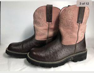 Ariat Fatbaby Women's Cowboy Boots sz 9.5 for Sale in Kilgore, TX