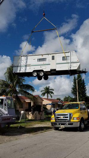 Rv trailer relocation shed for relocation for Sale in Miami, FL
