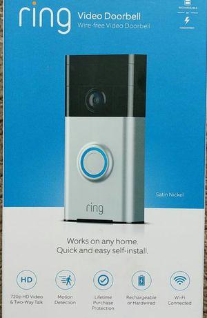 New Ring Doorbell Security Camera 1st Generation Door Bell for Sale in Orange, CA