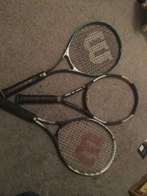 Tennis rackets and bags for Sale in Baltimore, MD