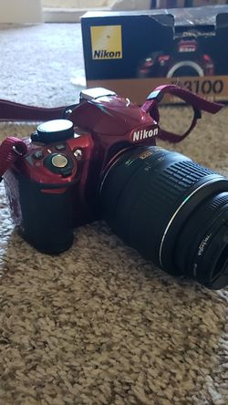 Nikon d3100 dslr camera with 18-55mm lens, and all accessories for Sale in Cedar Park,  TX