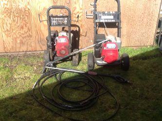 2 Honda pressure washer for Sale in Renton,  WA