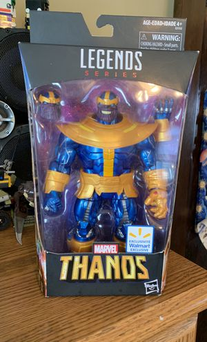 Marvel legends thanos figure new $30 cash for Sale for sale  Clifton, NJ