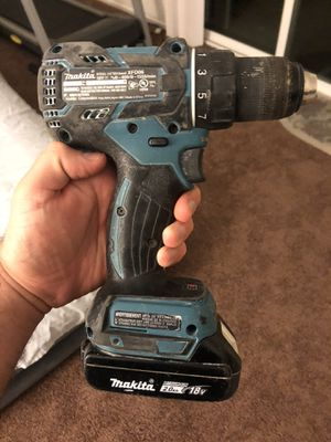 Makita drill and impact for Sale in Fullerton, CA