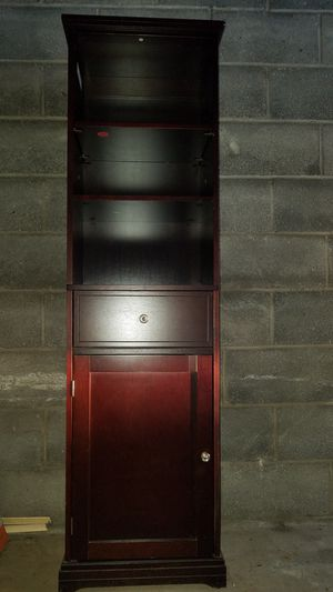 $50, 5foot standing cherry cabinet for Sale in Philadelphia, PA