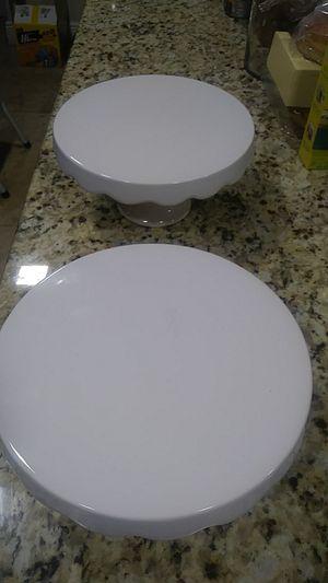 Ceramic cake stands for Sale in Hialeah, FL