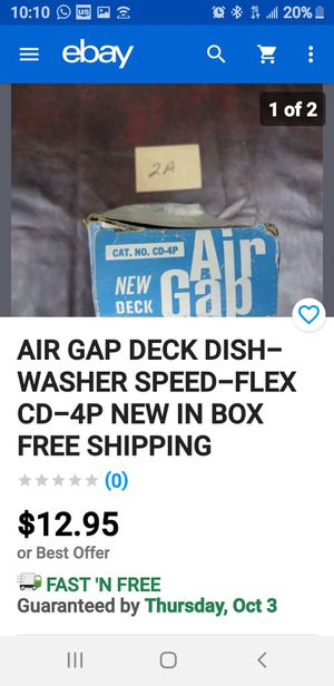 AIR GAP DECK DISHWASHER SPEED-FLEX for Sale in Los Angeles, CA