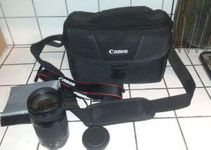 CANON camera lens , camera bag and camera strap for Sale in Clovis, CA