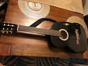 Black guitar for Sale in New Brighton, MN