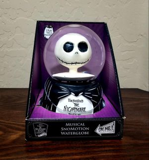 Nightmare Before Christmas Musical SnoMotion Waterglobe for Sale in Laveen Village, AZ