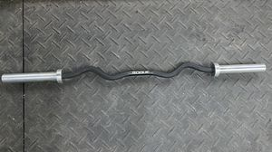 Rogue Fitness cerakote curl bar for Sale in Houston, TX