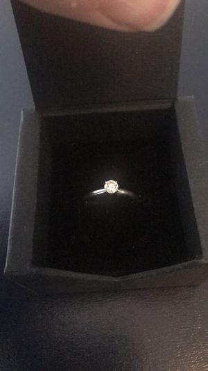 Diamond ring, 14k white gold for Sale in Alexandria, VA