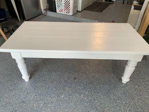 White coffee table/Farmhouse style for Sale in La Mirada, CA