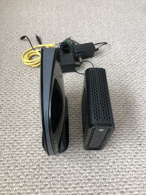 Modem and WiFi router combo for Sale in Parker, CO