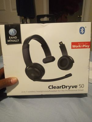 Rand McNally 2-1in-1 wireless headphones for Sale in Richmond, TX