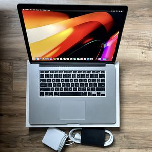 "FAST 2.5GHz i7 Quad 512GB SSD 15"" MacBook Pro Retina Display High Performance better than 13"" 2018 19 or 2020 i5 i7 for Sale in Los Angeles, CA"