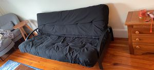 Futon mattress and metal frame for Sale in Tinton Falls, NJ