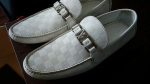 All White Louis Vuitton Mens Shoes for Sale in Greensboro, NC