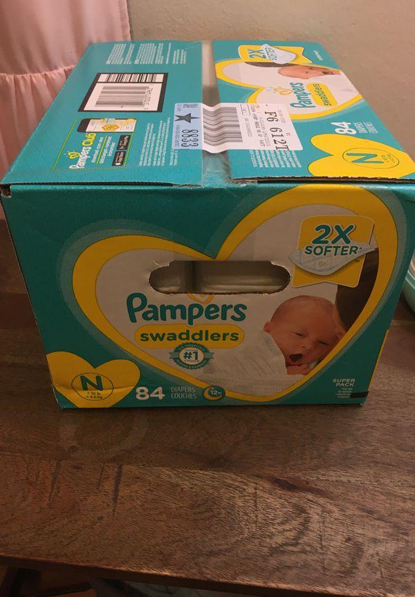 Newborn pampers 84 pack