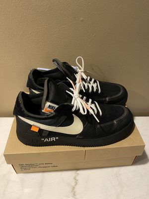 Air Force 1 Offwhite(black) size 11 for Sale in Los Angeles, CA