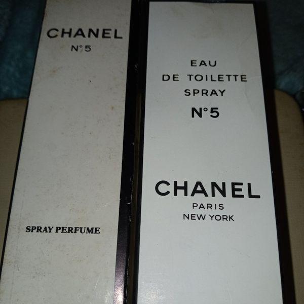 Vintage Chanel No.5 Perfume