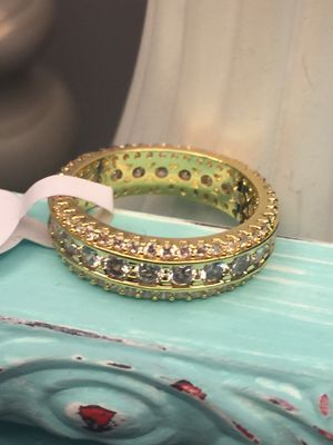 18k GF Gorgeous Engagement Wedding Band Ring Size 7 for Sale in Nashville, TN