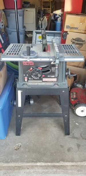 Table saw 10inch for Sale in Haltom City, TX