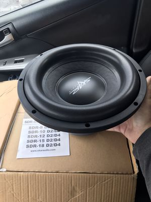 Skar audio sdr-12d4 subwoofer brand new in box for Sale in Akron, OH