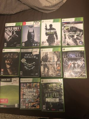 Xbox 360 video game bundle for Sale in Sandy Springs, GA