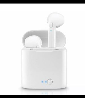 (NOW) Bluetooth Headphones For iPhone Android Samsung Earpods Wireless Earbuds Airpods BEST QUALITY! for Sale in Murray, UT