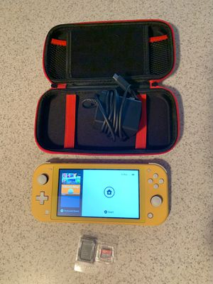Nintendo Switch Lite - With Games for Sale in East Haven, CT