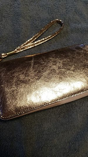 Rose Gold clutch wallet for Sale in Mackinaw, IL