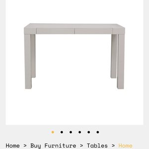 West Elm Parsons Desk - 2 Drawer for Sale in Los Angeles, CA