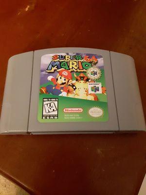 Mario 64 works great for Sale in Norfolk, VA