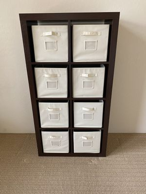 Storage Cabinet/Shelf With Six Cloth Drawers for Sale in Scottsdale, AZ