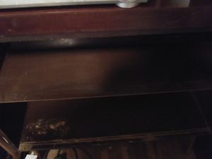 Old two shelf cabinet with glass doors for Sale in Columbus, OH