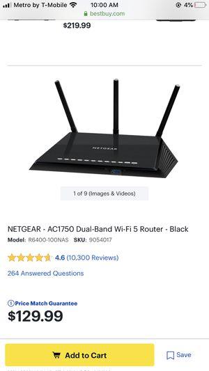 Smart WiFi router netgear for Sale in Houston, TX